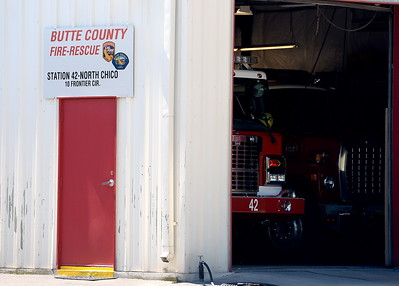 Cal Fire Station 42 is located off of Cohasset Road in North Chico, Calif. Thurs. April 20, 2017.  (Bill Husa -- Enterprise-Record)