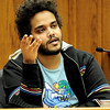 Ahmad Abdulkareem answers questions during the trial of Zachrey Harris, 21, at the Boulder County Justice Center in Boulder, Colorado April 5, 2011.  Harris was arrested on suspicion of harassment and bias-motivated crime in connection with the Sept. 18 attack that left University of Colorado student Olubiyi Ogundipe with serious injuries.  CAMERA/Mark Leffingwell