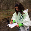 Submitted   Madison Middle School sixth-grader Carly Conforte collects data for a stream study at Holden Arboretum on April 28, 2016.