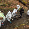 Tawana Roberts - The News-Herald   Sixth-graders from Madison Middle School conduct a stream study at the Holden Arboretum through the Arthur Holden Leadership Institute program on April 28, 2016.