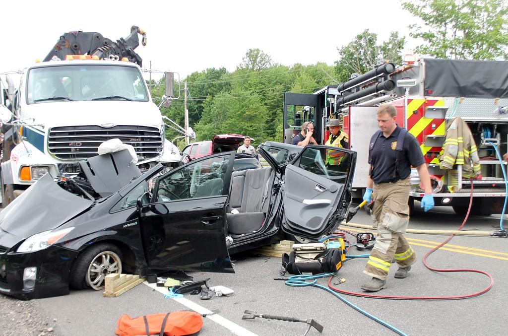 PHOTOS: Chardon Township fatal crash, June 6, 2017 - News-Herald