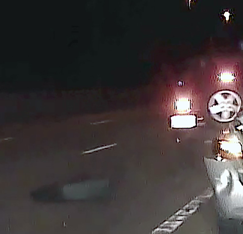 . Police in Mentor asked for the public�s help in locating the vehicle in this image, captured at the time of a fatal hit-and-run crash that killed a Mentor police officer about 1 a.m. June 24. (Courtesy of the Mentor Police Department)