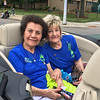 Carol Harper - The Morning Journal <br> Pauline Garcia, left, and Gerry Sifter served as honorary grand marshalls of Lorain International Festival Parade June 26, 2016, on Broadway Avenue in Lorain. Both women served as past presidents of Lorain International Association in the 1990s.