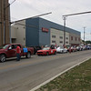 Carol Harper - The Morning Journal <br> Participants line up for a 50th Anniversary Lorain International Festival Parade June 26, 2016, on Elyria Avenue in Lorain.