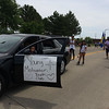 Carol Harper - The Morning Journal <br> Youth march to leave a message about motivation June 26, 2016, at Lorain International Festival Parade on Broadway Avenue in Lorain.