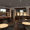 Submitted rendering | coffee to cocktails bar