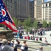 Public Square re-opening ceremony
