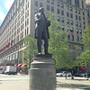 Moses Cleveland statue, Public Square re-opening