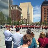 Public Square re-opening, Shaw High School Marching Band
