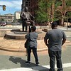 Mayor Tom L. Johnson statue, Pulic Square re-opening.