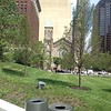 Overlook Hill and Old Stone Church, Public Square re-opening