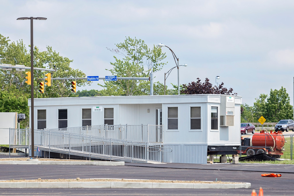 . This trailer will be used for the wellness campus\'s fitness center membership drive, starting July 17. (Carrie Garland - For The News-Herald)
