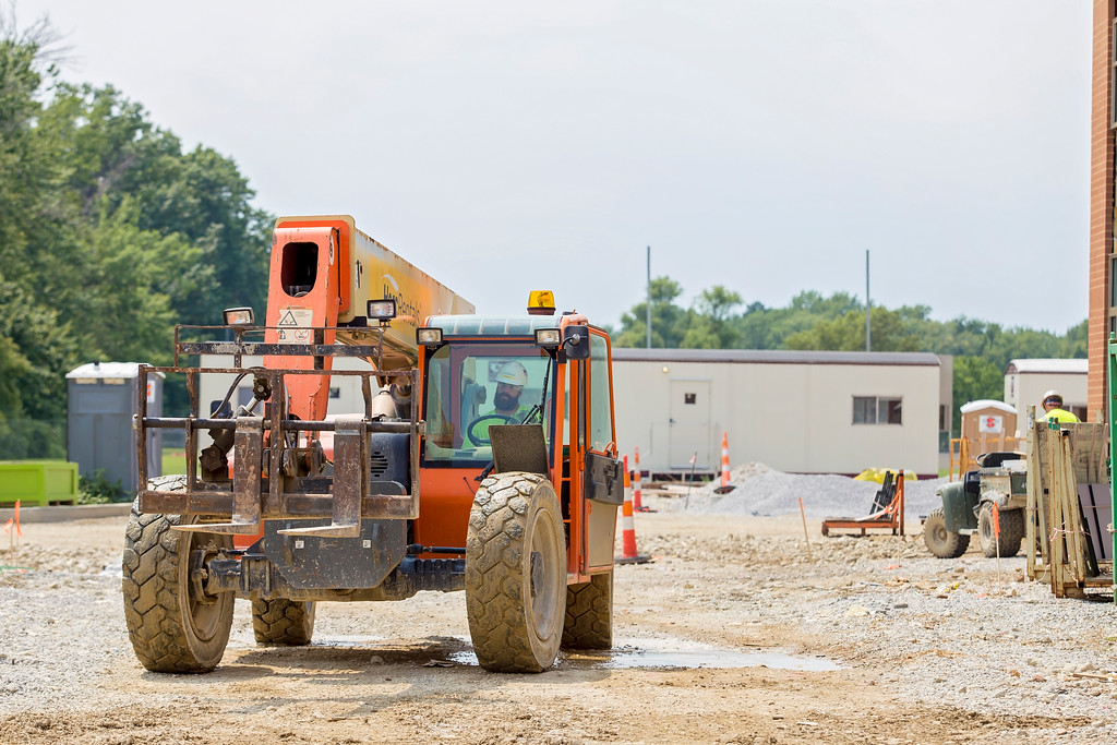 . Construction of Lake Health Mentor Wellness Campus is on time and on budget, a Lake Health official says. (Carrie Garland - For The News-Herald)