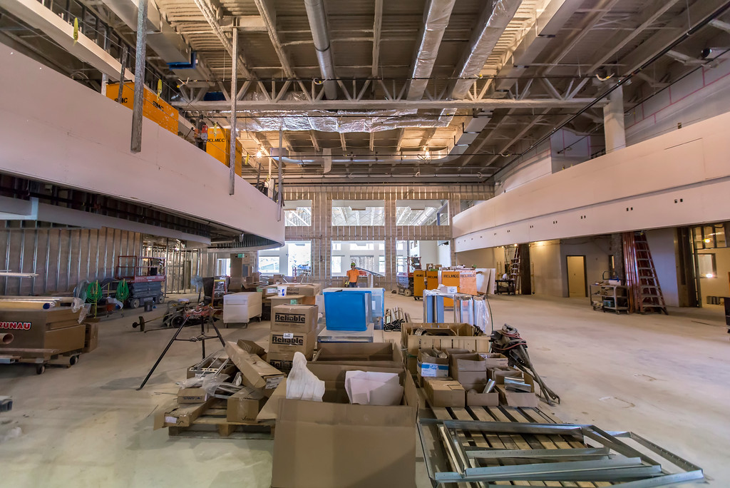 . About 60 percent of the 85,000-square-foot Lake Health Mentor Wellness Campus will be devoted to the fitness center portion. (Carrie Garland - For The News-Herald)