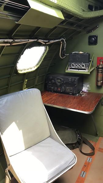 Harley Marsh/News-Herald...Radio station, Madras Maiden B-17