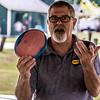Submitted<br /> Painesville Disc Golf Vice President Mickey Anderson displays discs used to play disc golf.
