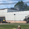 The scene of an Aug. 1 fire at Northeast Factory Direct on Curtis Boulevard in Eastlake. (Andrew Cass - The News-Herald)