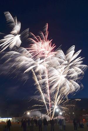 10 x 10 Upstreet Art Festival Fireworks - 022617