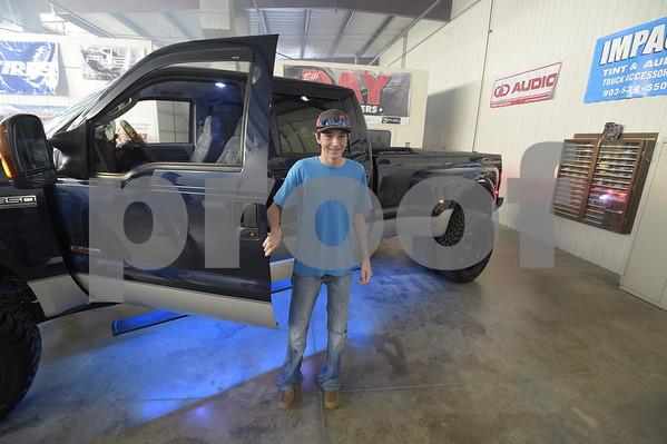 Make-A-Wish Truck