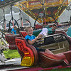 KRISTOPHER RADDER — BRATTLEBORO REFORMER<br /> The rain didn't scare off people during the opening day of the 102nd Annual Deerfield Valley Farmers' Day Fair, in Wilmington, Vt., on Thursday, Aug. 8, 2019.