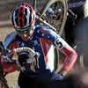 Todd Wells powers up the steps during the Men's Elite race of The Boulder Cup at the Valmont Bike Park in Boulder, Colorado October 30, 2011.  CAMERA/Mark Leffingwell