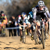 Tristan Schouten plows through the sand pit during the Men's Elite race of The Boulder Cup at the Valmont Bike Park in Boulder, Colorado October 30, 2011.  CAMERA/Mark Leffingwell