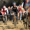 Allen Krughoff works through the sand pit during the Men's Elite race of The Boulder Cup at the Valmont Bike Park in Boulder, Colorado October 30, 2011.  CAMERA/Mark Leffingwell