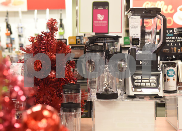 Ninja blenders are pictured at Kohl's in Tyler Tuesday Nov. 15, 2016. Kohl's now has extended holiday shopping hours and a smartphone app for customers.  (Sarah A. Miller/Tyler Morning Telegraph)