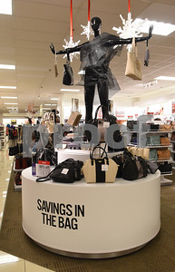 Purses are on display at J.C. Penney in Tyler Friday Nov. 18, 2016. J.C. Penney will open Thanksgiving Day at 3 p.m. for their Black Friday sale.   (Sarah A. Miller/Tyler Morning Telegraph)