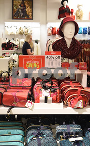 Holiday gifts are on display at J.C. Penney in Tyler Friday Nov. 18, 2016. J.C. Penney will open Thanksgiving Day at 3 p.m. for their Black Friday sale.   (Sarah A. Miller/Tyler Morning Telegraph)