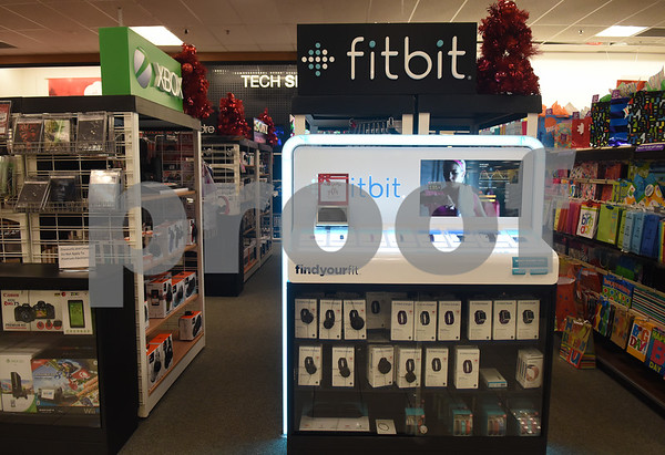Fitbits will be a popular holiday gift at Kohl's in Tyler. Kohl's now has extended holiday shopping hours and a smartphone app for customers.  (Sarah A. Miller/Tyler Morning Telegraph)