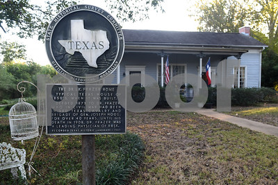 The historic Dr. I.K. Frazer Home is pictured in Rusk.  (Sarah A. Miller/Tyler Morning Telegraph)