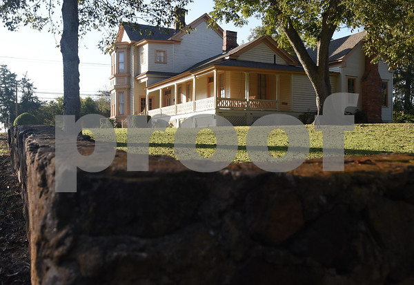 The historic James I. Perkins Family Home is pictured in Rusk Monday Nov. 14, 2016.  (Sarah A. Miller/Tyler Morning Telegraph)
