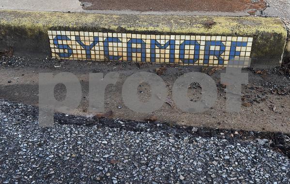 Tiles mark street names in Rusk.  (Sarah A. Miller/Tyler Morning Telegraph)