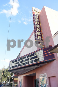 The Cherokee Theater is pictured in Rusk Monday Nov. 14, 2016.  (Sarah A. Miller/Tyler Morning Telegraph)