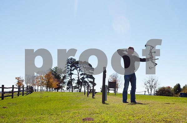 Archer at Mineola Nature Preserve