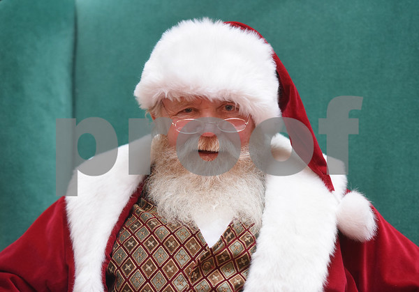 Santa Claus is pictured at Broadway Square Mall in Tyler Tuesday Nov. 29, 2016.  (Sarah A. Miller/Tyler Morning Telegraph)