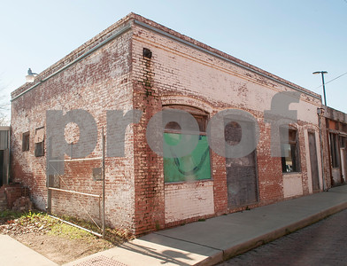 This building downtown across from the Cotton Belt Depot is being renovated for the Innovation Pipeline project.  (Sarah A. Miller/Tyler Morning Telegraph)