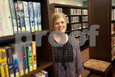 Jan Smith is the branch director of Overton's McMillian Memorial Library, part of the Rusk County Library System.  (Sarah A. Miller/Tyler Morning Telegraph)
