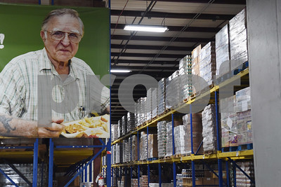 An aisle of food is pictured at the East Texas Food Bank Monday Dec. 12, 2016 in Tyler. The East Texas Food Bank serves 26 counties by providing food to nearly 200 partner agencies to distribute to those in need.   (Sarah A. Miller/Tyler Morning Telegraph)