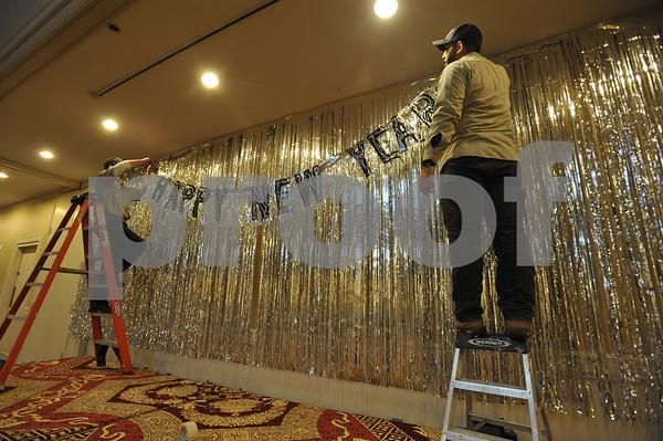 New Years Party Prep