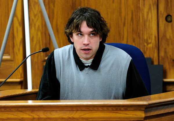 Torin Clarke, a former co-worker of Kevin McGregor's from Which Wich sandwich shop tells jurors that he found a handgun hidden above a missing ceiling tile in the office of the shop after his manager learned McGregor might keep a gun at the store. McGregor is charged with the murder of Todd Walker in March of 2011. Paul Aiken / The Camera