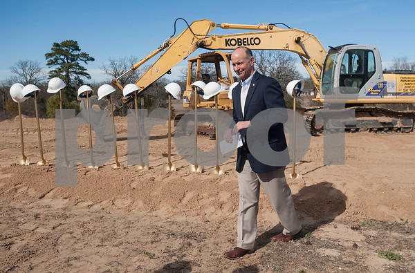 East Texas Food Bank CEO  Dennis Cullinane is pictured at the groundbreaking site for a new $3 million expansion for the The East Texas Food Bank on Wednesday Jan. 31, 2018.   (Sarah A. Miller/Tyler Morning Telegraph)