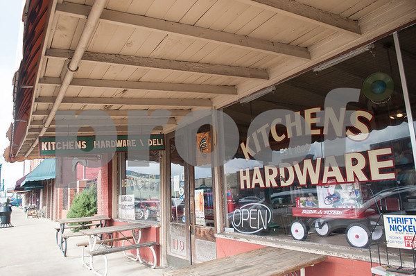 Kitchens Hardware and Deli is a popular destination in downtown Mineola.  (Sarah A. Miller/Tyler Morning Telegraph)