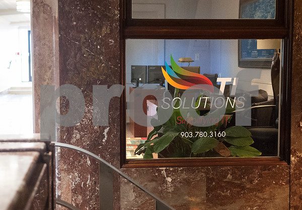 TI Solutions is a business located inside The People's Petroleum Building in downtown Tyler.  (Sarah A. Miller/Tyler Morning Telegraph)