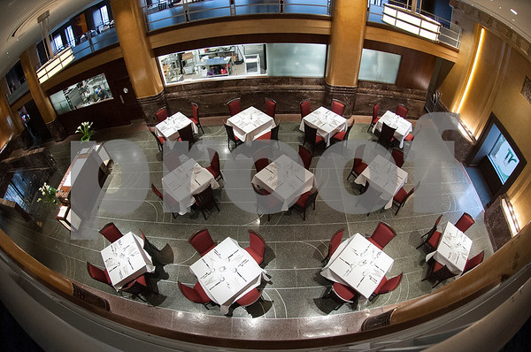 Jack Ryan's Steak and Chop house is pictured inside The People's Petroleum Building in downtown Tyler Wednesday Jan. 6, 2016. The restaurant is one of many new tenants in the iconic building.  (Sarah A. Miller/Tyler Morning Telegraph)