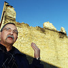 Globe/T. Rob Brown<br /> Fort Scott, Kan., Mayor Gary Billionis speaks in front of city property which used to be a historic business building that burned, as seen Tuesday afternoon, Nov. 21, 2006, in downtown Fort Scott.<br /> Section: News Story: Wally K.