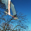 Globe/T. Rob Brown<br /> Jud Heald of Duquesne skates on some ramps in his backyard Thursday afternoon, Dec. 29, 2005. Heald is a professional skateboarder with an international Christian ministry called Untitled. He is also involved with The Bridge in Joplin.<br /> Section: People Story: Chadwick Watters