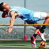 The Joplin Globe/T. Rob Brown<br /> Webb City (Mo.) High School's Boo Rodgers clears the high jump Thursday afternoon, May 1, 2008, at Webb City High School's stadium during the Webb City track meet. Rodgers went on to win the event with 6-foot-2 cleared.