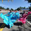 "Members of the Nahucalli Casa Dela Danza perform during the Boulder County Fair Parade on Saturday.<br /> For more photos and a video of the parade, go to  <a href=""http://www.dailycamera.com"">http://www.dailycamera.com</a>.<br /> Cliff Grassmick / July 28, 2011"